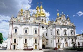 Church of the Assumption at Pechersk Lavra in Kiev, Ukraine
