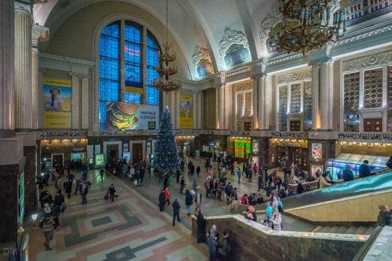 Central Station, Kiev Train Station