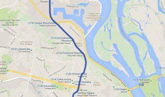 Kiev Metro Blue Line